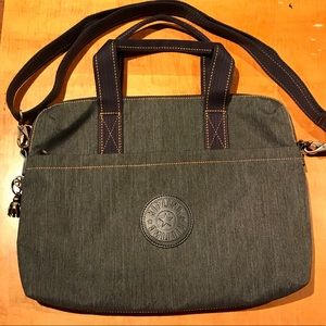 Kipling commuter laptop tote bag